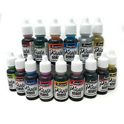 Jacquard Pinata Alcohol Ink 14ml & 28ml Bottle 19 Colours Vibrant Quality Inks