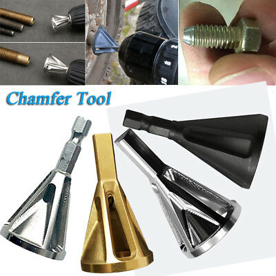 Heliburr Deburring External Chamfer Stainless Steel Remove Tools for Drill Bit~