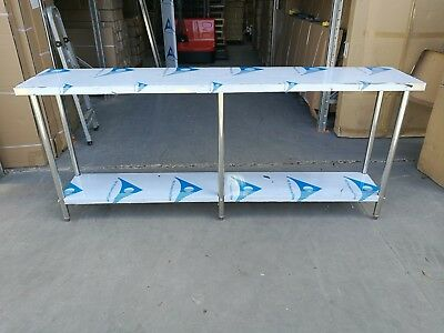 Stainless Steel Bench 2100 (L) x 400 (W) x 900 (H) mm