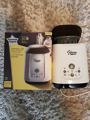 Tommee Tippee Express and Go Baby Bottle and Pouch Warmer for Food/Milk BPA Free