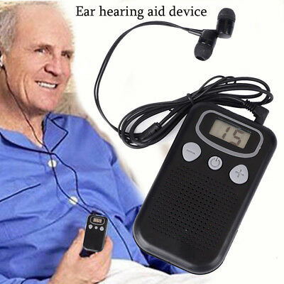 Magic Personal Ear Hearing Aid Device Booster Sound Hearing Amplifier Digital GL