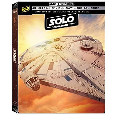 Steelbook SOLO a Star Wars Story 4K Ultra HD+Blu-Ray+Digital FRANCAIS NEUF