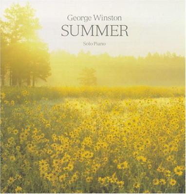 George Winston-Summer-Import Cd With Japan Obi Bonus Track F04