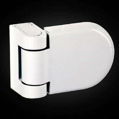 Avocet Affinity Adjustable T-Type 3D Upvc Door Flag Hinge - White