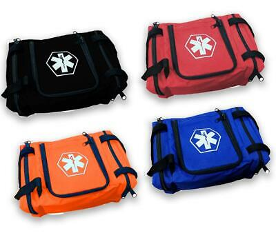 "First Aid Responder EMS Emergency Medical Trauma Bag EMT 10.5""x5""x8 Fire Fighter"