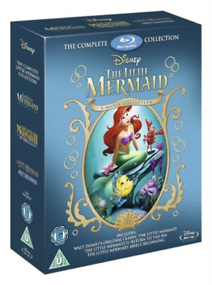 Little Mermaid Trilogy (UK IMPORT) Blu-ray NEW