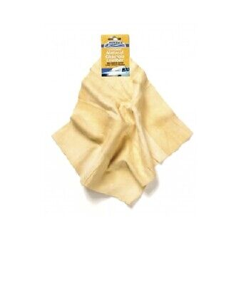 Carpride Stitched Natural Leather Chamois Cleans Without Smearing 30ml