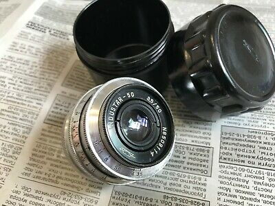 Industar-50 Russian  lens 3.5/50mm  M39 №6509114 made in USSRFor Fed, For Zorki