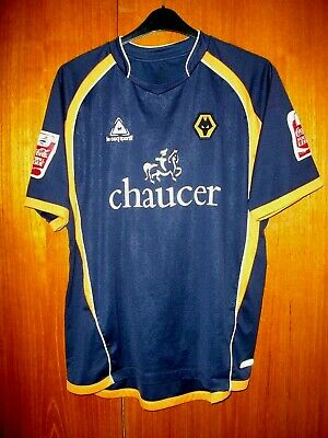 Wolves Football Shirt Le Coq Sportif Blue away size XL 44 46 EASTWOOD 23  vinyls 995628178