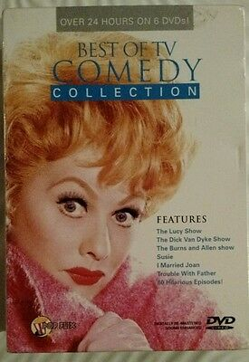 BEST OF TV COMEDY COLLECTION  (DVD, 2008, 6-Disc Set) OVER 24 HOURS  NIB