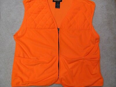 93d3d909d9fcd Blaze orange hunting vest by Outfitters ridge very good condition size L (42/44