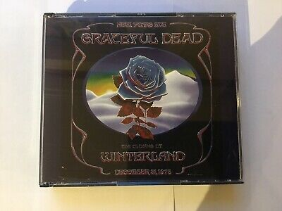 Grateful Dead - The Closing Of Winterland New Year'S Eve 1978 4Cd Live