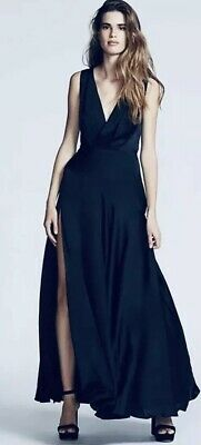 9b166eb733 NEW Free People X Fame And Partners Essie Maxi Dress Size 8 Showstopper Gown