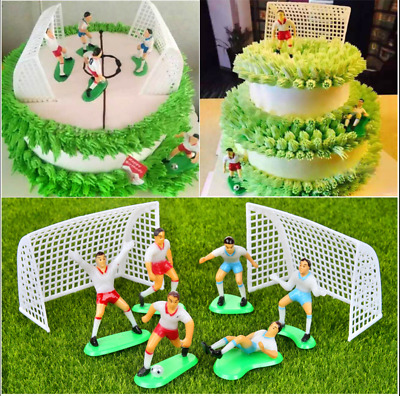 Swell Soccer Football Cake Topper Decorations Birthday Cake Decorating 8 Personalised Birthday Cards Paralily Jamesorg