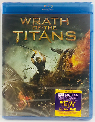 Wrath of the Titans (Blu-ray Disc, 2012) *NEW* Factory Sealed