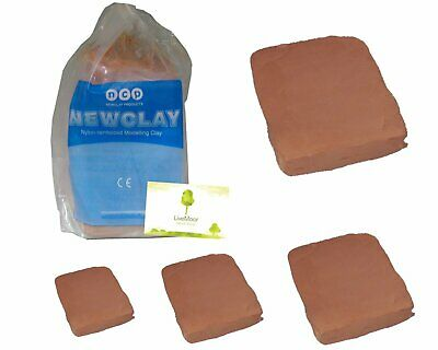 Newclay - Air Hardening Clay - Terracotta - Small to Bulk Sizes Available
