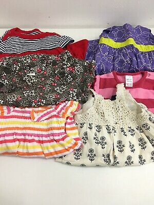 Baby Girls Summer Bundle 0-3 Minths Dresses And Rompers Next Gap Carters