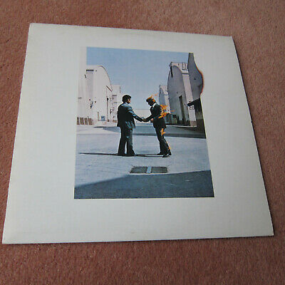 Pink Floyd - Wish you were here - Early A1 B5 pressing VG+/VG+ postcard