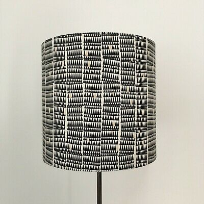Beautifully Handmade Drum Lampshade In Carolyn Friedlander 'Doe' Fabric