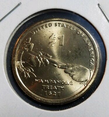 2011-D Sacagawea Native American Dollar - Uncirculated from US Mint Rolls