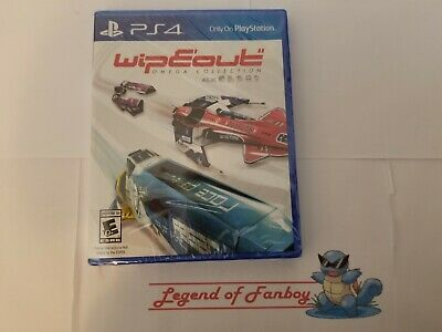 * New * Wipeout :Omega Collection - Sony PlayStation 4 + ps4 VR * Sealed Game*