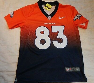 Wholesale DENVER BRONCOS JERSEY Youth Wes Welker #83 NFL Orange Boys NFL  for cheap