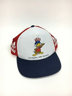 Youth 1984 Adidas Team USA Olympics Sam The Eagle 80s 1980s VINTAGE VTG Rare Hat