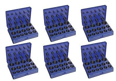 Buna-N O-Ring Kit, 70A Durometer, 382 Pieces, 30 Sizes 6 Pack (Great Value)
