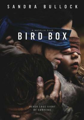 Bird Box (DVD, 2018) A NetFlix Movie