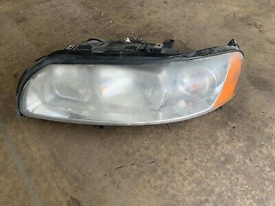 Volvo S60 V70 Mk2 plastic lens headlamp LH UK n/s passneger side 2004 - 07
