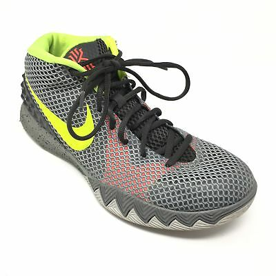 new arrival deec9 2c238 Men s Nike Kyrie 1 Pewter Basketball Shoes Sneakers Size 9 Gray Black Green  K1