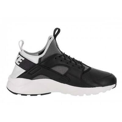 low priced 0ec94 c443f Mens NIKE AIR HUARACHE RUN ULTRA SE Black Trainers 875841 004