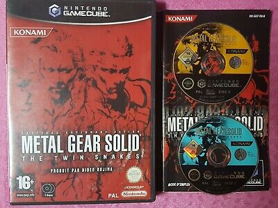 Metal Gear Solid: The Twin Snakes pour GameCube