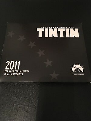 'The Adventures of Tintin' DVD - For Your Consideration - Free P&P