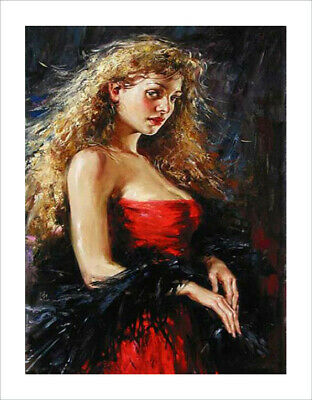 """frameless canvas """"HD printing Oil Painting"""" 30X40 cm A03"""