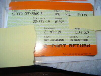 Leeds to Southampton or Bournemouth off peak one way valid until 21st March