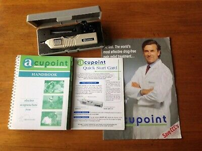 Acupoint Electro Acupuncture Electrotherapy TENS Device & Handbook