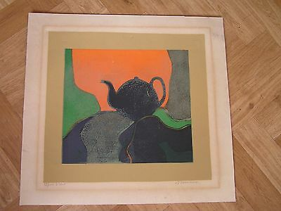 Lithographie Andre Minaux Signee Numerotee 59/100