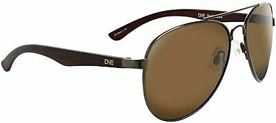 b2b5eb45f7e ONE Arbor Polarized Sunglasses  Shiny Brown Matte Dark Wood with Polarized