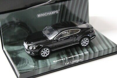 1:43 Minichamps Bentley Continental GT black 2011 NEW bei PREMIUM-MODELCARS