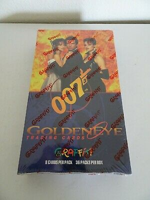 James Bond 007 Pierce Brosnan Sealed box trading cards 1995 Graffiti