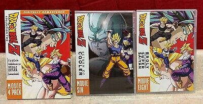 Dragon Ball Z 4 Movie Pack Collection Two Sean Schemmel Sonny Strait Anime