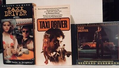 Taxi Driver 1976 film (DVD and Vintage Movie Tie-In Paperback) Robert De Niro