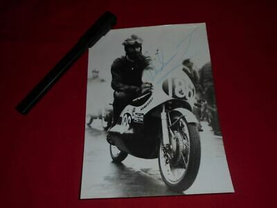 Dave Simmonds 1972 Autograph Signed Motorcycle World