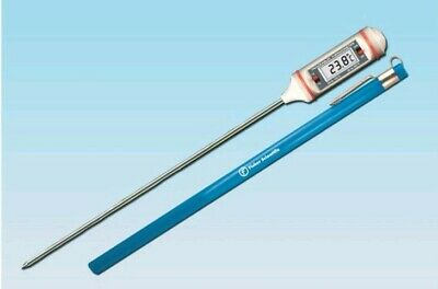 Fisher Scientific 4353 11-3/8 Stem THERMOMETER Gases, food,and other semisolid