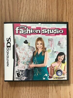 My Fashion Studio Everyone Game Nintendo Ds Design Style Dsi Lite Xl Nds Ubisoft 10 00 Picclick