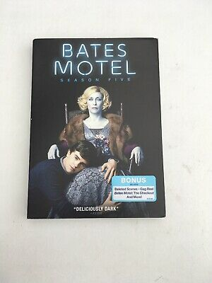 Complete Fifth FINAL Season 5 Five Sealed NEW BATES MOTEL (DVD,2017, 3 DISC SET)