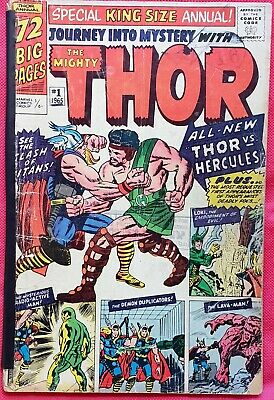 Journey Into Mystery With Thor 1 King Size Marvel Silver Age 1963 1st Hercules