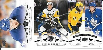 Pick 2 Finish Your Set 2018-19 Upper Deck Series 2 Hockey Base Singles See List