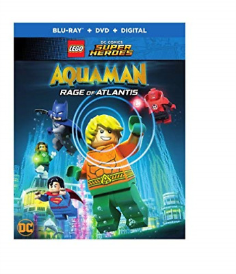 LEGO DC SUPER HEROES: AQUAM...-LEGO DC SUPER HEROES: AQU (UK IMPORT) Blu-Ray NEW